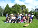 School Down Under class photo, study abroad high school with Permaculture incorporated, 2006