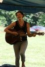 Dina preforming at Pollination Festival, Treasure Lake, 2014