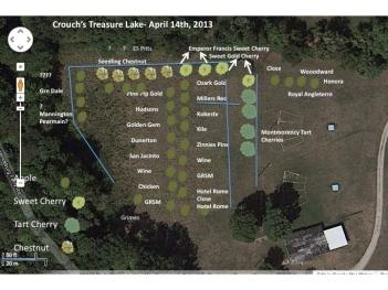 Orchard design, treasure lake, Kentucky, USa 2013