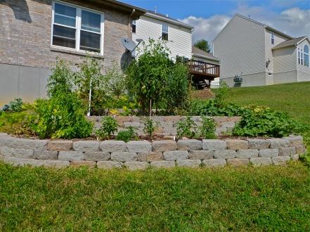 Suburban garden Terraces, Ohio, USA 2011