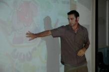 Doug teaching at the esteemed Raffles Girl School, Singapore, 2009
