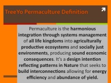 Our Permaculture Definition