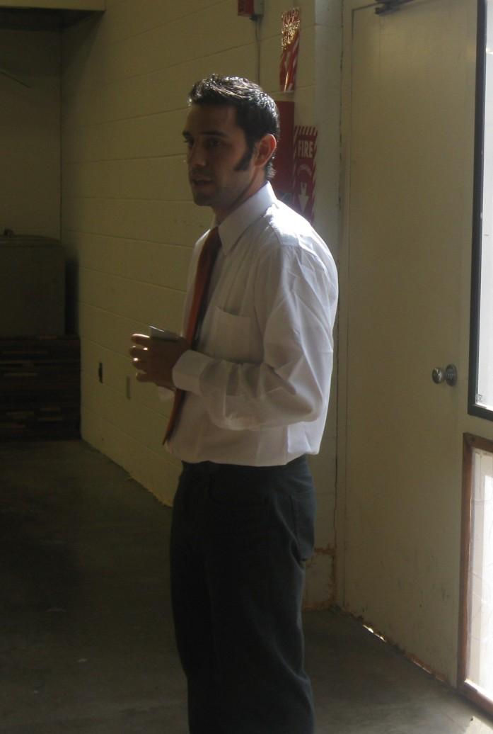 Doug in a tie