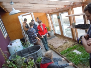 Compost heated Greenhouse