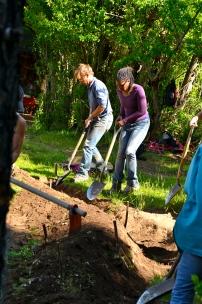 digging swales, Argetnina PDC 2012