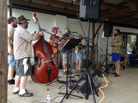 back porch bluegrass at the lake bar