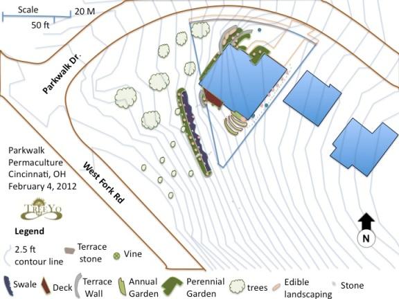Parkwalk Permaculture Design