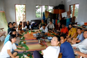 A meal from our 2009 PDC in Malaysia