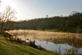 Treasure Lake in the morning!