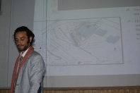 Doug explaining flows of energy on a site