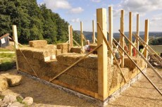 strawbale contstruction