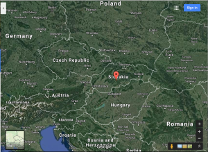 Central location in Central Europe