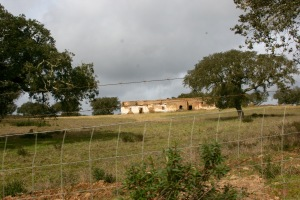 A farm house in ruin in Alentejo, Portugal