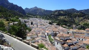 Grazalama Village tucked in the mountains