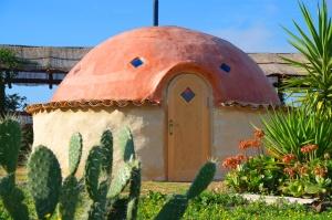 earthen sauna at suryalila.