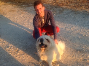 Jon Valdivia, and the giant fluff ball known as Vangales.