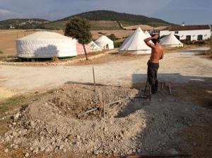 Tamarillo Circle earthwork done