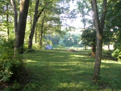 Campsite 2, one of the ridges overlooking the lake for you to camp