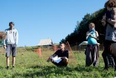 Arvid, teaching away, photo by Leigh Vukov
