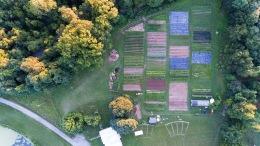 Dark Wood Farm Aerial